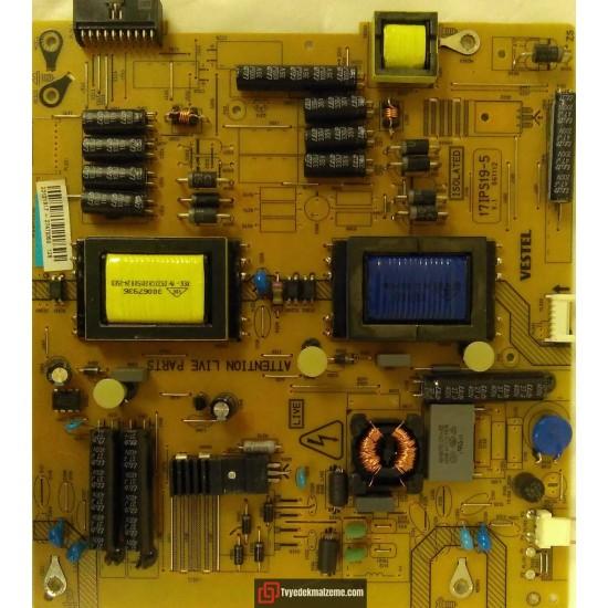17IPS19-5, V.1 06112, 23121917, Vestel, Power Board, Besleme Kartı