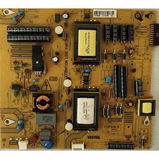 23138395, 17IPS19-5 V1 061112, Vestel, Besleme Kartı, Power Board