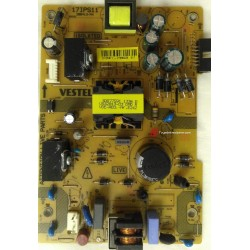 17IPS11, 23125811, 300413-R4, VESTEL, REGAL, Power Board, Besleme Kartı