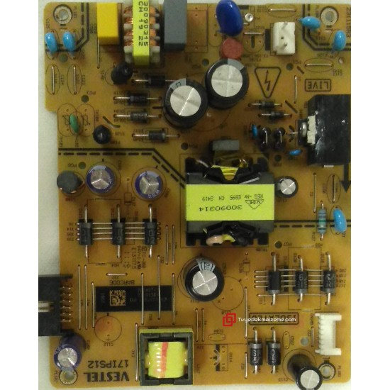 17IPS12, 23281584, 231115R3, Power Board, Besleme Kartı, VESTEL, SEG