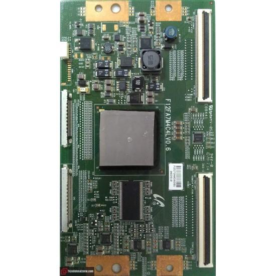 F12FA7M4CLV0.6, T-con Board, T-con Kartı, Samsung Display