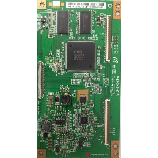 V420H1-C15, CMO, T-Con Board, T-Con Kartı