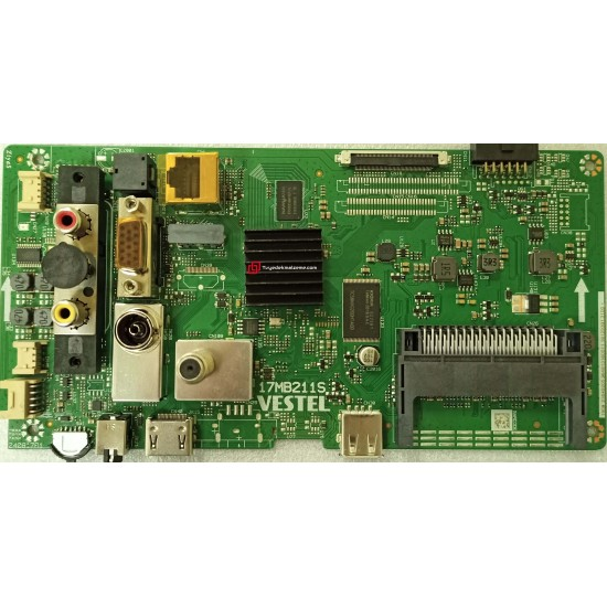 17MB211S, 23649205, 10129301, 49HL750, HI-LEVEL, Main Board, Anakart